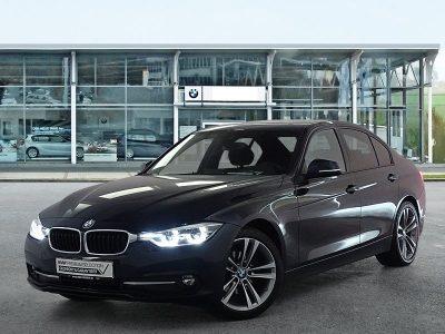 BMW 320d Limousine Sportline, Head-up Display, Cámara